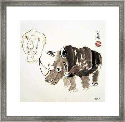 Beautiful Bracelet Framed Print by Ming Yeung