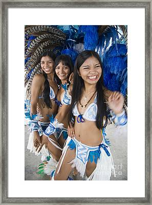 Beautiful Women Of Brazil 2 Framed Print by David Smith