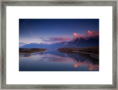 Beautiful British Columbia Framed Print by Eti Reid