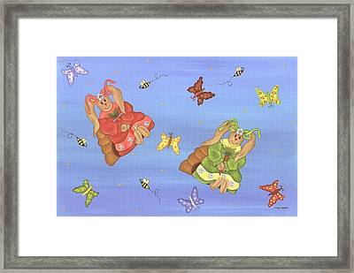 Beautiful Bunnies Framed Print