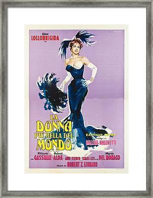 Beautiful But Dangerous - Italian  Framed Print by Georgia Fowler