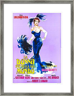 Beautiful But Dangerous, Italian Framed Print
