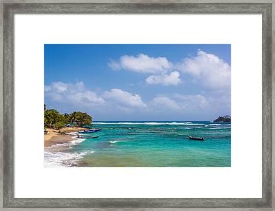 Beautiful Caribbean Water Framed Print by Jess Kraft