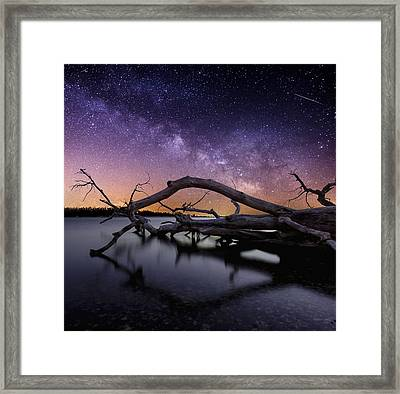 Beautiful Chaos Framed Print