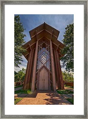 Beautiful Chapel Framed Print by Joan Carroll