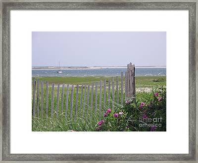 Beautiful Chatham Framed Print