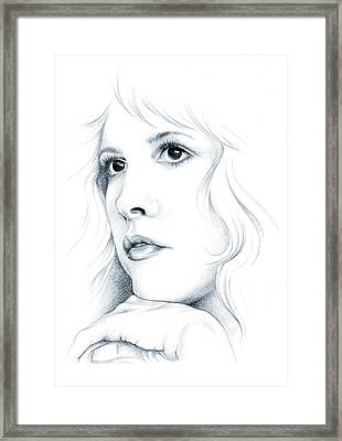 Beautiful Child Framed Print by Johanna Pieterman