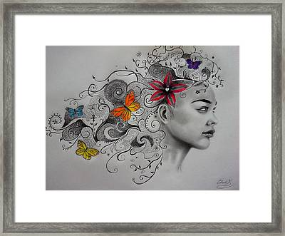 Beautiful Creatures Framed Print by Christopher Kyle
