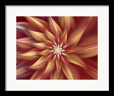 Asymmetrical Digital Art Framed Prints