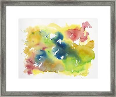 Beautiful Dancer Framed Print