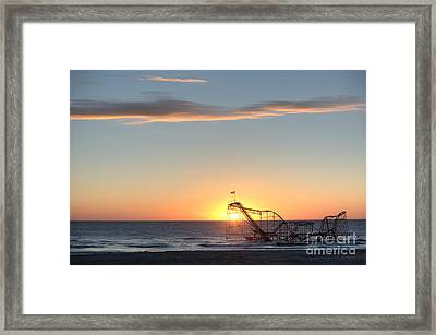 Beautiful Disaster Framed Print by Michael Ver Sprill
