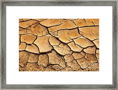 Beautiful Dry Land Framed Print by Boon Mee