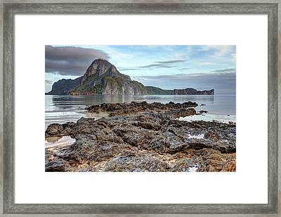 Beautiful El Nido Landscape Framed Print by Vuk8691