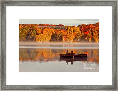 Beautiful Ending To A Great Summer Framed Print