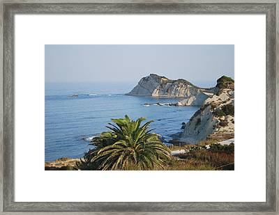Beautiful Erikousa 1 Framed Print by George Katechis