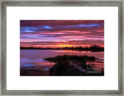 Beautiful Evening Framed Print by Robert Bales