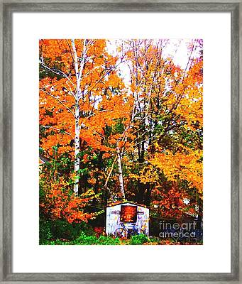 Beautiful Fall Season Framed Print