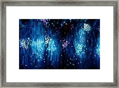 Beautiful Fireworks  1 Framed Print by Lanjee Chee