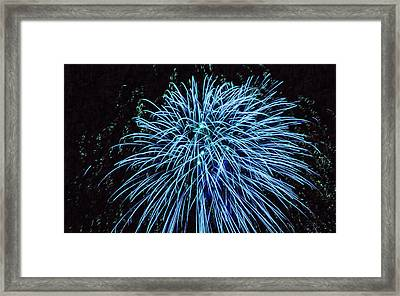 Beautiful Fireworks 13 Framed Print by Lanjee Chee