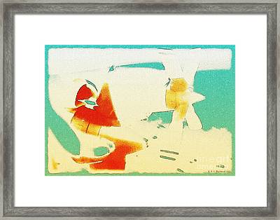 Fixed Wing Aircraft Poster Framed Print by R Muirhead Art