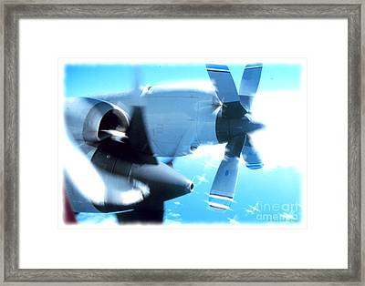 Beautiful Fixed Wing Aircraft Framed Print by R Muirhead Art