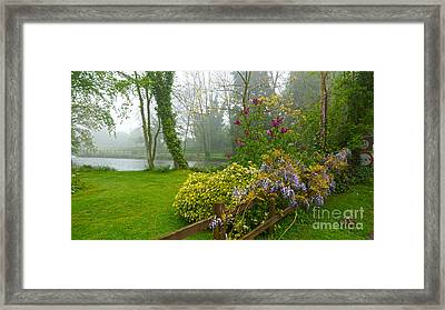 Beautiful Flowers Of Spring Framed Print