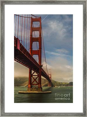 Beautiful Golden Gate Framed Print by Mitch Shindelbower
