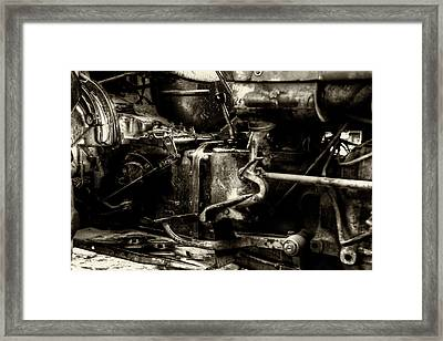 Beautiful In Black And White Framed Print