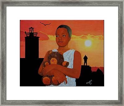 Beautiful Innocence Framed Print by Daniel Kisekka