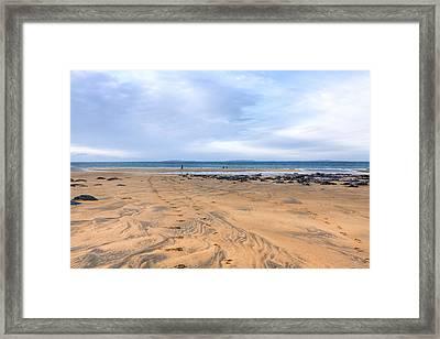 Beautiful Irish Beach Near Fanore Ireland Framed Print by Mark Tisdale