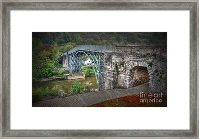 Beautiful Ironbridge Framed Print by Mickey At Rawshutterbug