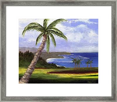 Beautiful Kauai Framed Print by Jamie Frier