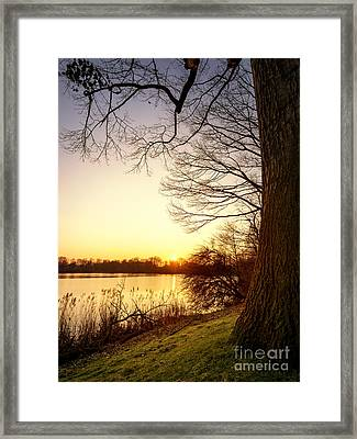 Beautiful Lake Framed Print