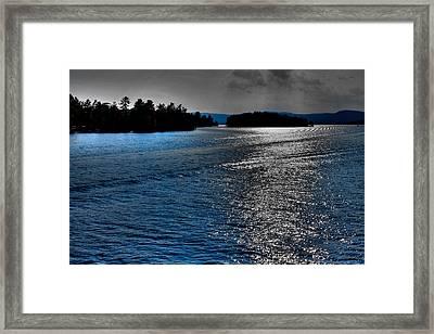Beautiful Lake George - New York Framed Print