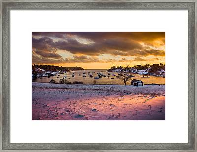 Beautiful Light Framed Print by Benjamin Williamson