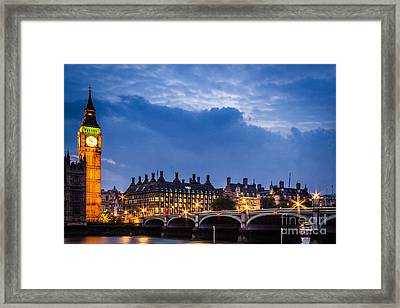 Beautiful London Framed Print