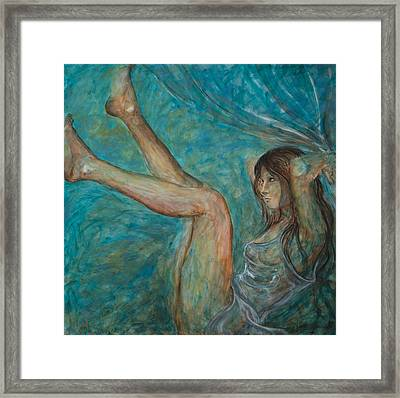 Beautiful Madness Framed Print by Nik Helbig