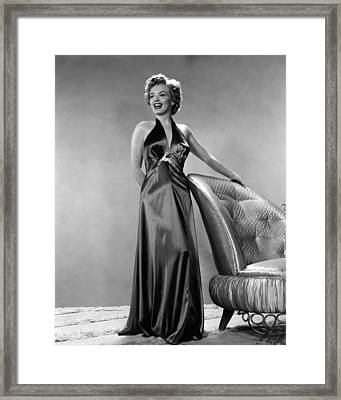 Beautiful Marilyn Monroe Framed Print