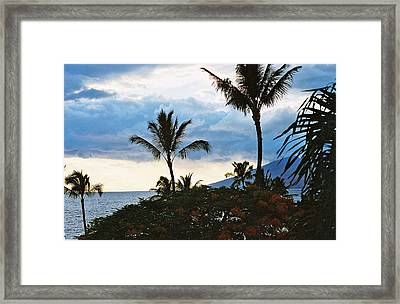 Framed Print featuring the photograph Beautiful Maui Lan 44 by G L Sarti