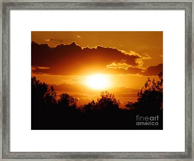 Framed Print featuring the photograph Beautiful Moment In Bakersfield by Meghan at FireBonnet Art
