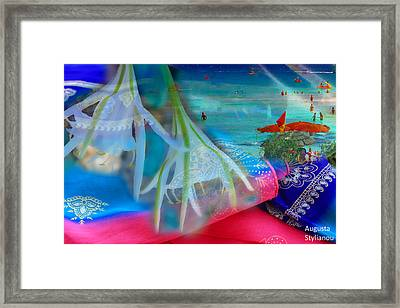 Beautiful Moments Framed Print by Augusta Stylianou