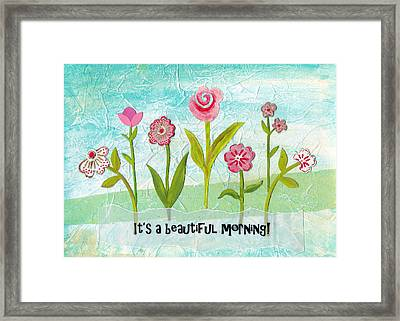Beautiful Morning Framed Print by Carla Parris