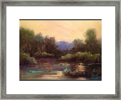 Beautiful Morning Framed Print