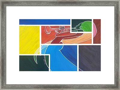 Beautiful Music Framed Print by Donald Lyons