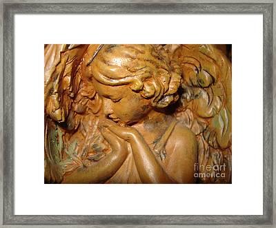 Beautiful Mystic Angel Framed Print