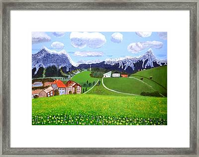 Beautiful Norway Framed Print