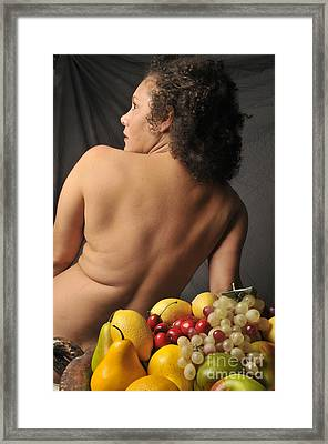 Beautiful Nude Woman Framed Print by Timothy OLeary