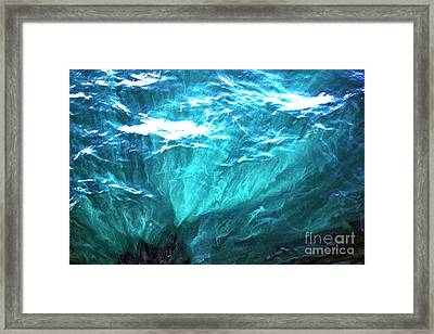 Beautiful Ocean Framed Print by Cassandra Buckley
