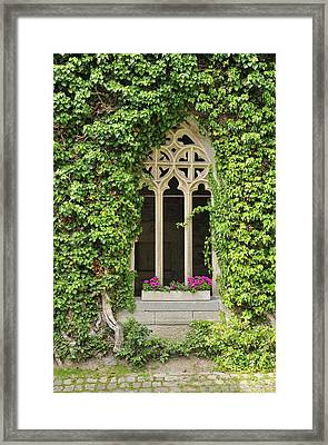 Beautiful Old Window Framed Print