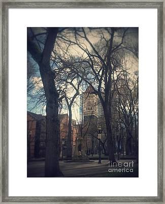 Beautiful Park Ptld. Framed Print by Heather L Wright